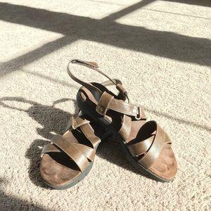 Aerosoles brown sandals size 7 1/2